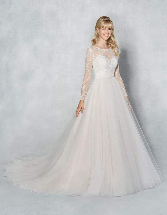 A Line Wedding Dresses.Freyja