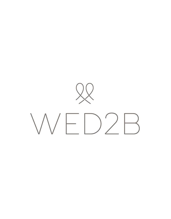 Saskia - a floaty short wedding dress
