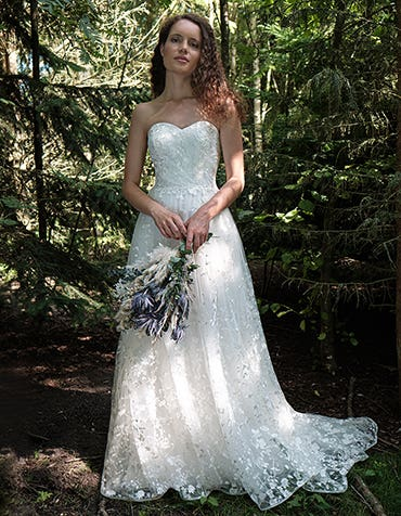 Delphine - een volledig gebloemde boho jurk.