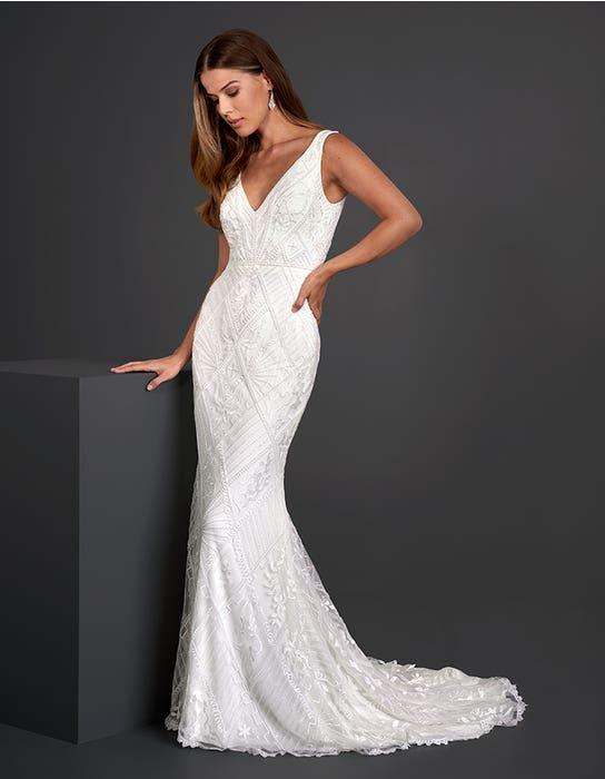 Dion - Een luxe jurk met prachtige kralen   WED2B