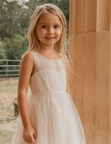 Dottie - a dreamy flowergirl dress