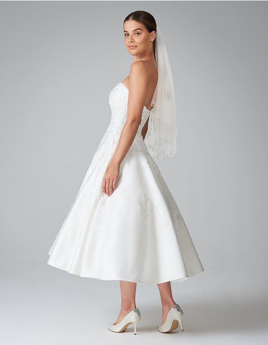 edna short wedding dress back anna sorrano