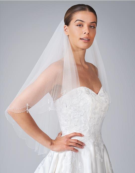 edna short wedding dress front crop anna sorrano