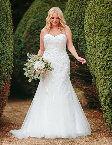 elba fishtail wedding dress anna sorrano th