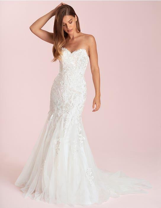 elba fishtail wedding dress front viva bride