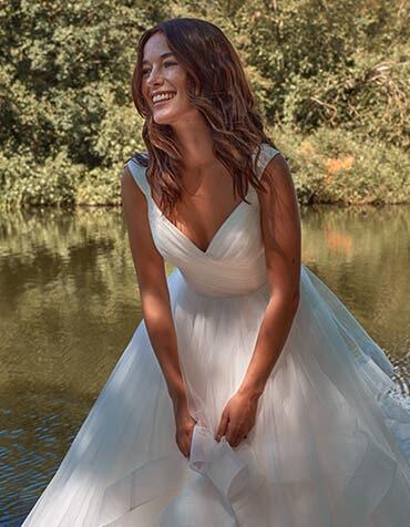 Elise - a wow-factor ballgown