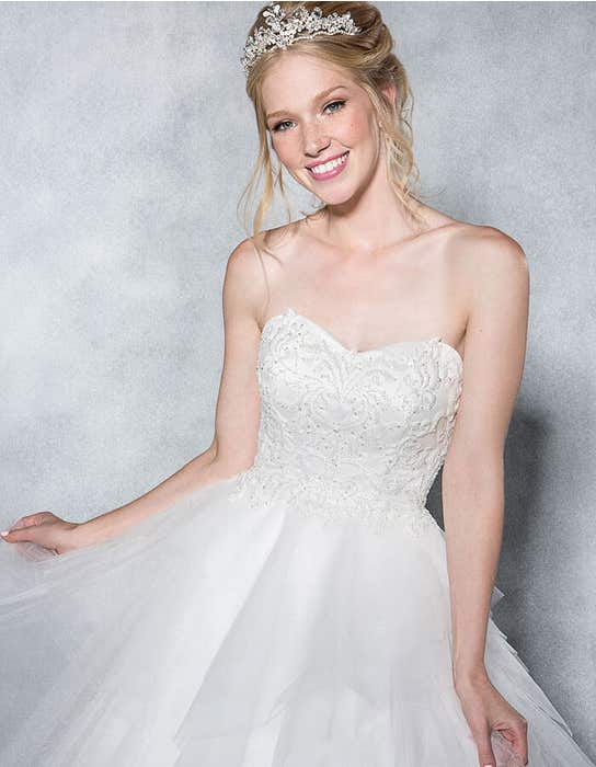 ELSA - a layered tulle ball gown | WED2B