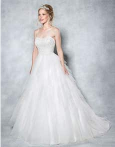 ELSA - a layered tulle ball gown
