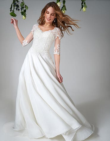 Emiliano - ein traditionelles Brautkleid