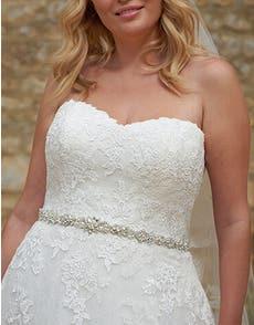 ESTELLA - une ceinture de mariée éblouissante