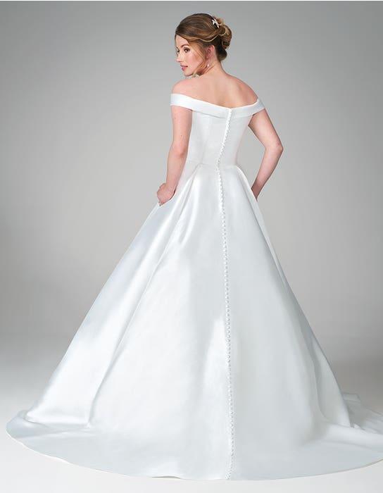 florian ballgown wedding dress back anna sorrano