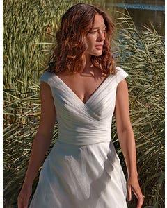 Greta - ein klassisches Organza-Brautkleid