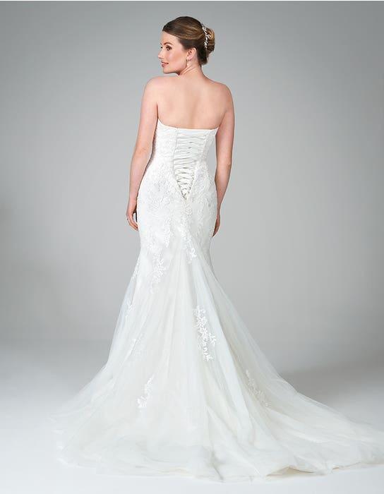 hattie fishtail wedding dress back anna sorrano