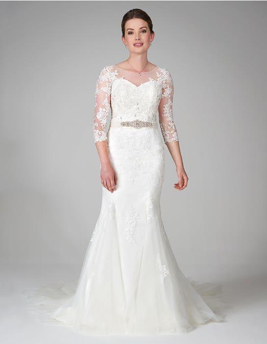 hattie fishtail wedding dress front2 anna sorrano
