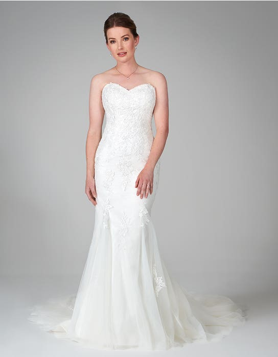hattie fishtail wedding dress_front anna sorrano