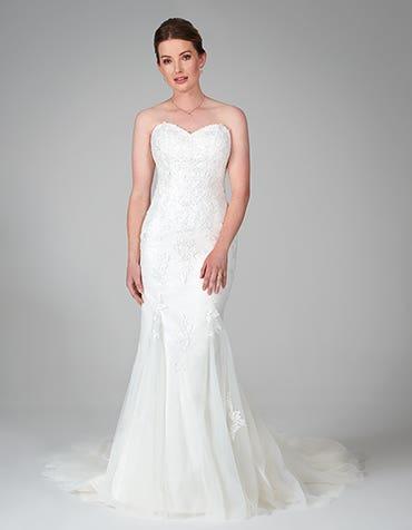 hattie fishtail wedding dress front anna sorrano th