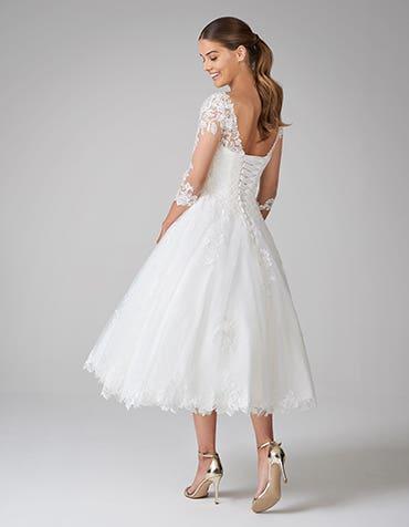 ida short wedding dress back anna sorrano th