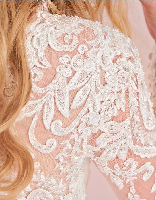 jaden aline wedding dress detail viva bride