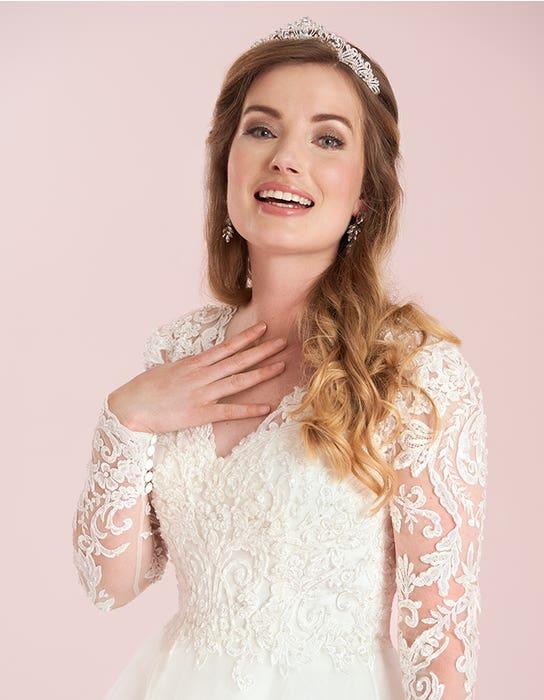 jaden aline wedding dress front crop viva bride