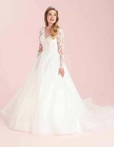 Jaden - a fun, girlie A-line wedding dress