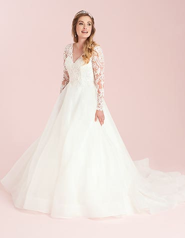 Jaden - a fun, girlie A-line wedding dress