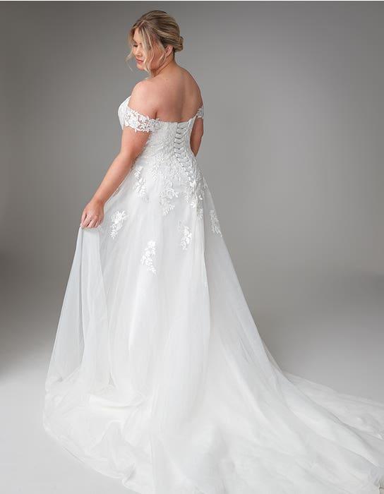 jaela aline wedding dress backanna sorrano