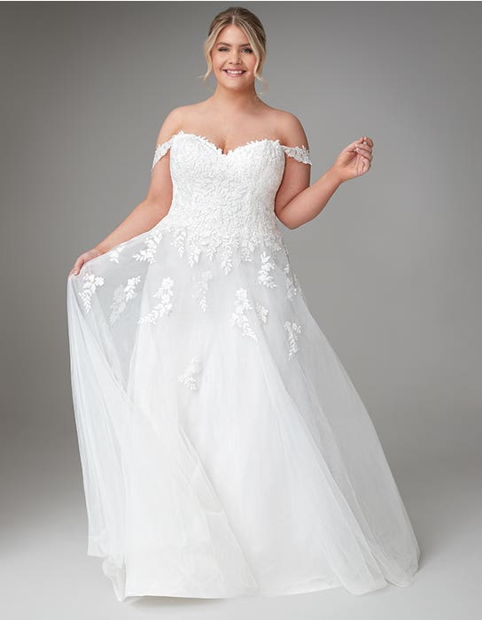 jaela aline wedding dress front anna sorrano