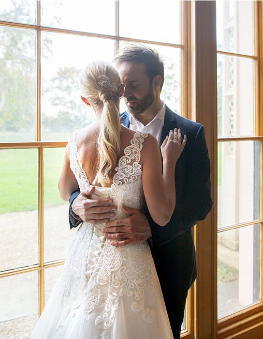 Jennifer - a vintage inspired gown with lace-up back | WED2B
