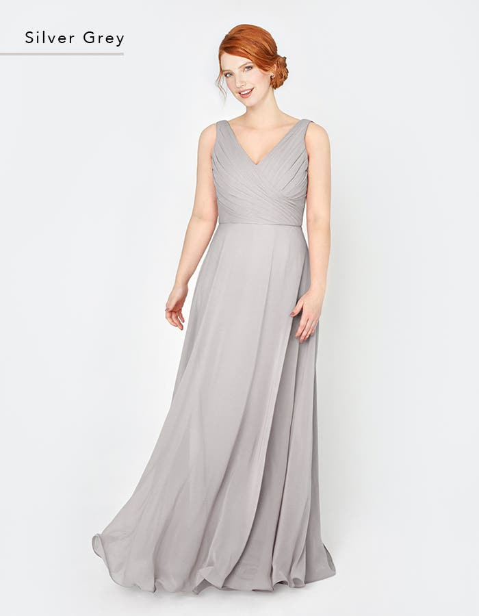 LAILA - a gorgeous pleated bodice with an unexpected romantic cowl back