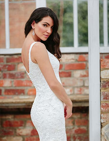 lawson fishtail wedding dress back crop edit viva bride th