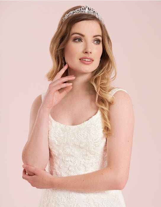 lawson fishtail wedding dress front crop viva bride