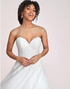 Leighton - a modern princess wedding dress