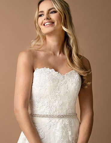 LEONIE - une ceinture de mariée intemporelle