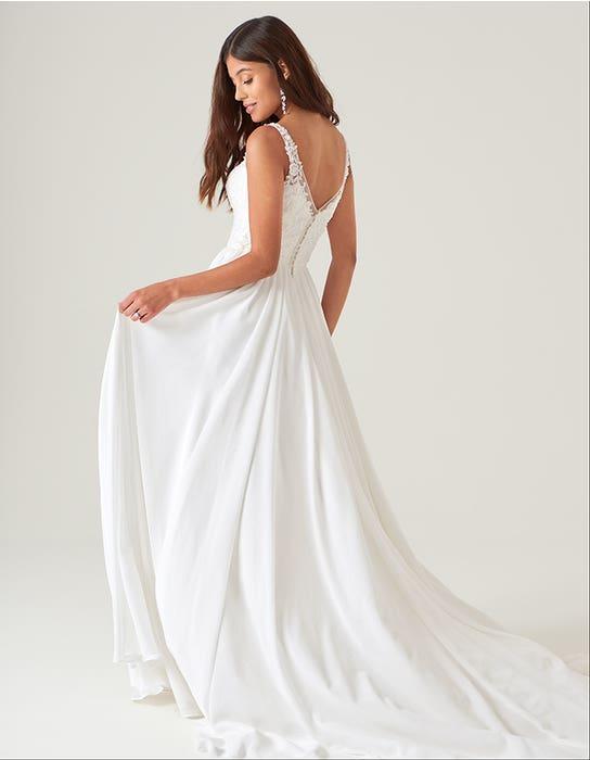 lilah aline wedding dress back heidi hudson
