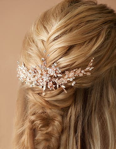 LORELEI - a traditional sparkling hair comb