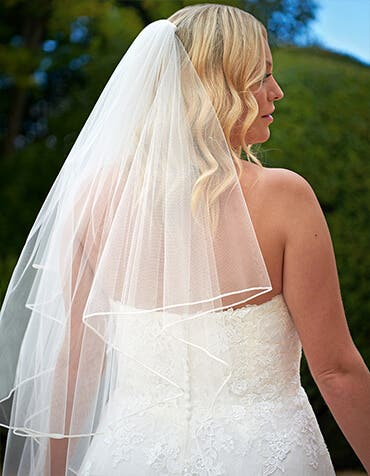 LOULOU -  un voile de mariage classique