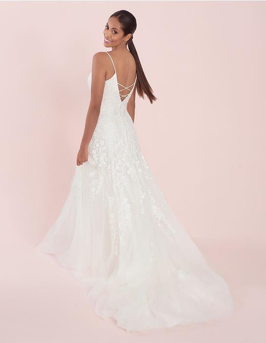 lyssa fit and flare wedding dress back viva bride