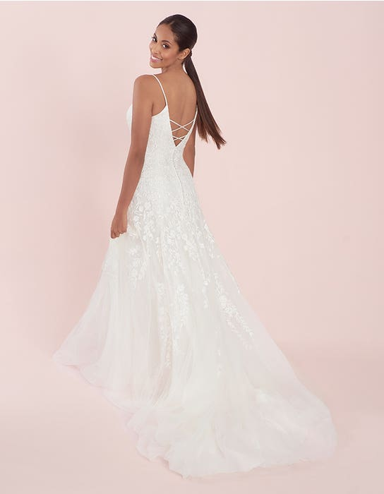 Lyssa - an embroidered gown with statement back | WED2B