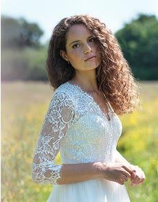 Maeva - Ein traditionelles Brautkleid im Bohemian-Stil