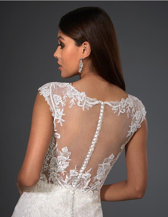marko sheath wedding dress back crop signature