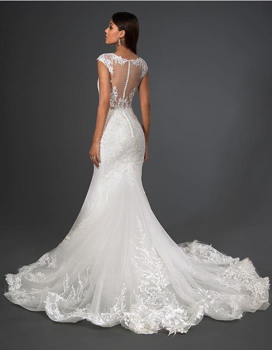 marko sheath wedding dress back signature