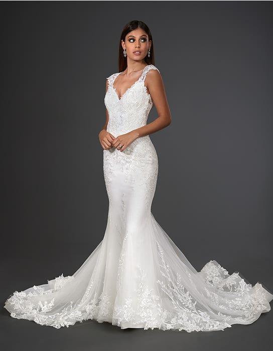 marko sheath wedding dress front signature