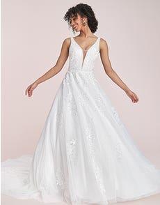 Marnie - a modern wedding dress with sequins