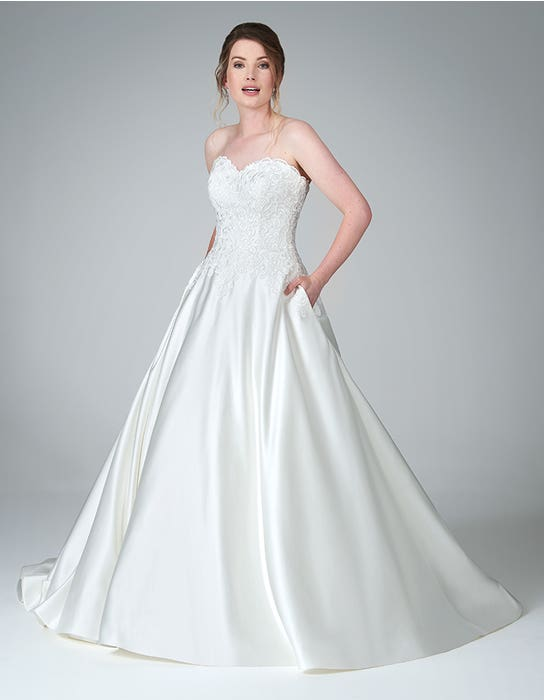 mercy aline wedding dress front anna sorrano