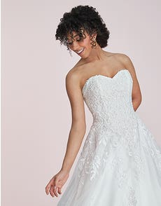 Molly - a sparkling lace a-line
