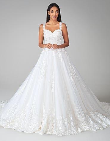 Monika - an elegant a-line wedding dress