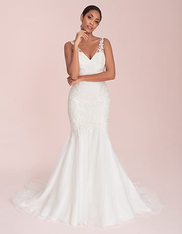 Natalie - an embroidered fishtail