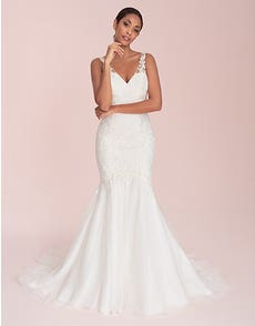 Natalie - a lightweight gown with illusion strap