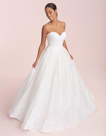 Nebula - Ein frisches, glänzendes Brautkleid in A-Linie