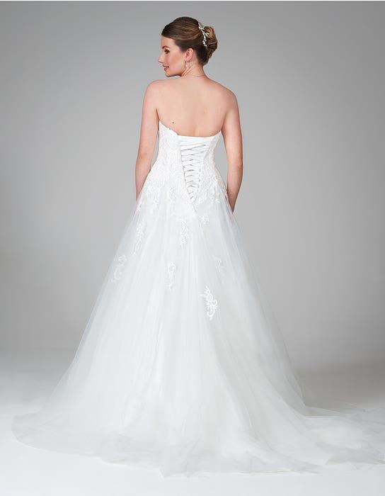 nina aline wedding dress back anna sorrano